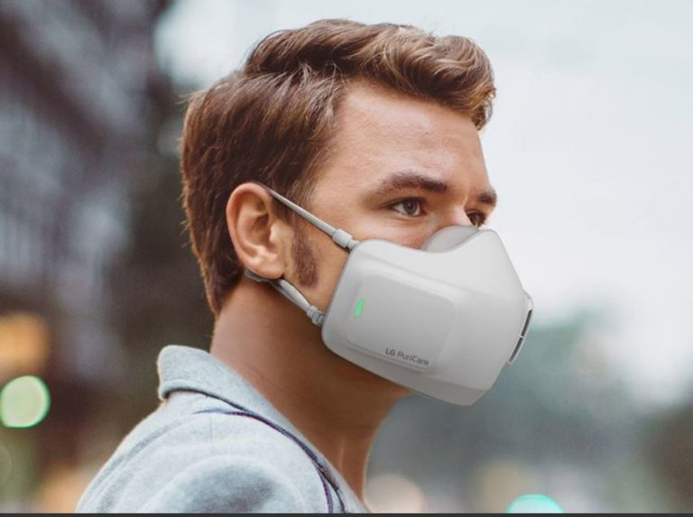 This «smart» mask is easier to breathe through